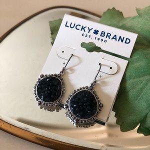 🆕Lucky🍀Brand Pave Druzy Drop Earrings